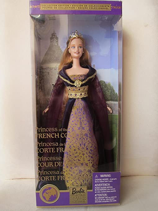 Amazon Dolls Of The World Princess Of The French Court Barbie