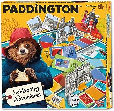 Paddington Bear Juego de Mesa | Paddington Turismo Aventura de Tablero de los Juegos Universitarios: Amazon.es: Juguetes y juegos