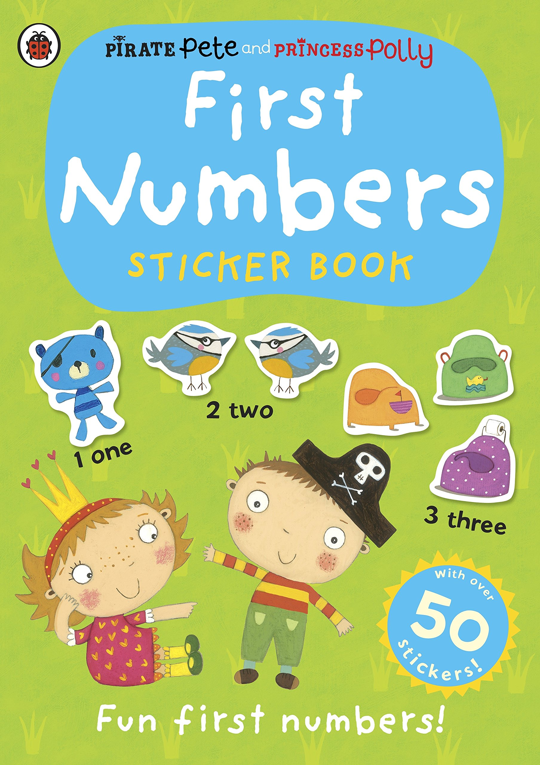 First Numbers: A Pirate Pete and Princess Polly sticker activity book