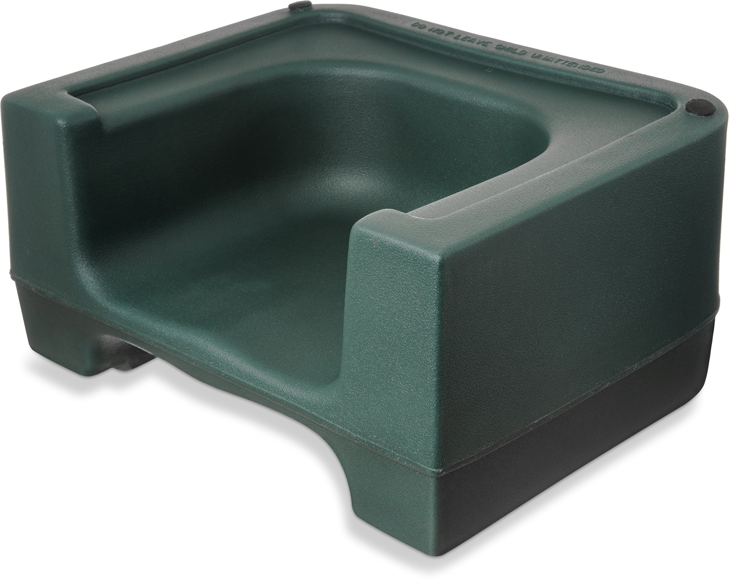 Carlisle 711008 Polyethylene Extra Strong Booster Seat, 8'' x 12.5'' x 15.5'', Forest Green (Case of 4)
