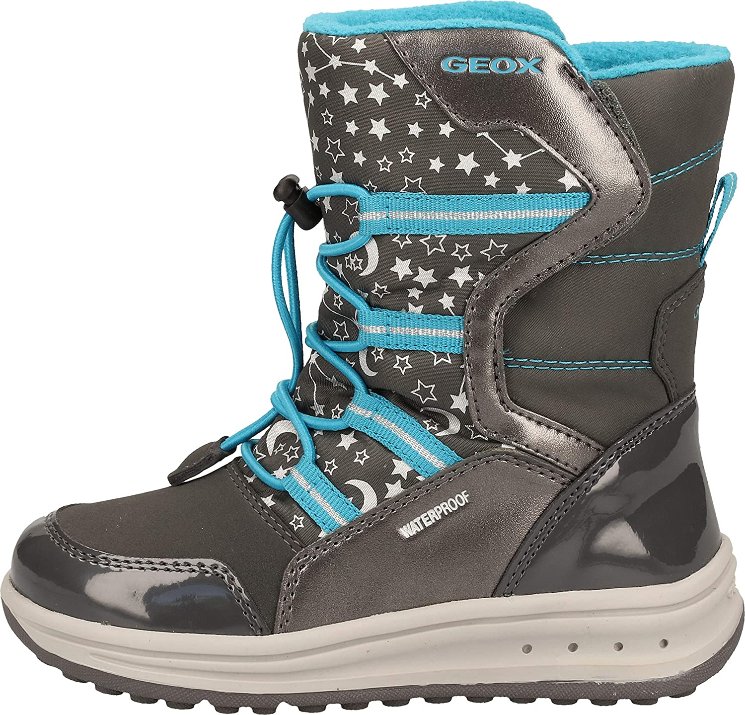 Cercanamente galope Habubu  Geox Girl Boots Baltic Girl WPF, Winter Boots, Removable Insole,  Waterproof: Amazon.co.uk: Shoes & Bags