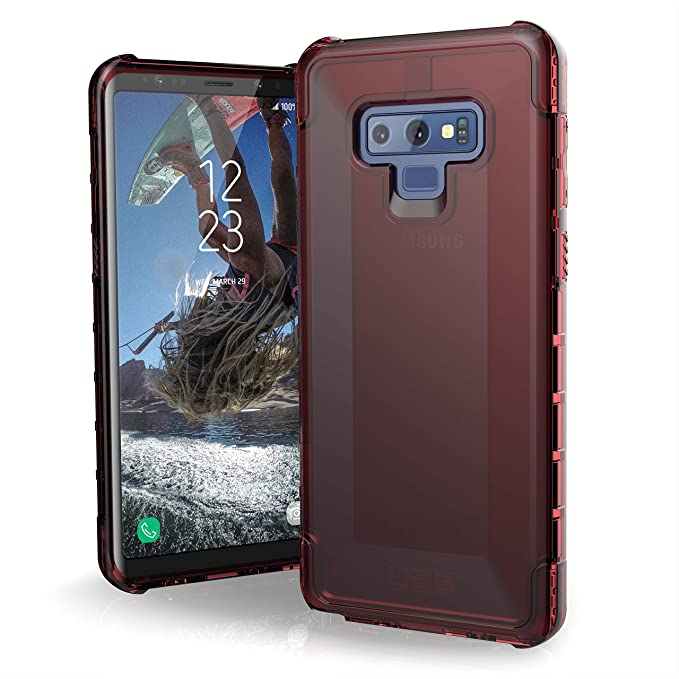 promo code ce39c 106df URBAN ARMOR GEAR UAG Designed with Samsung Galaxy Note 9 Plyo Feather-Light  Rugged [Crimson] Military Drop Tested Phone Case