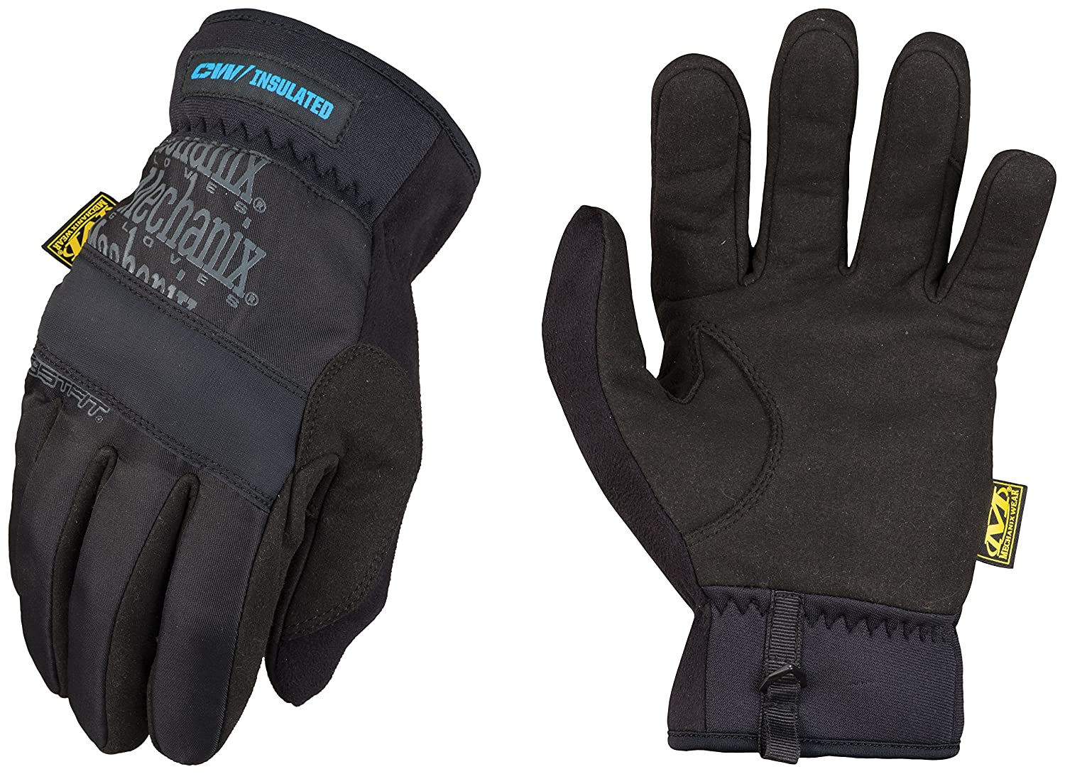 Mechanix Wear - FastFit Insulated Winter Gloves (Small, Black) MFF-95-008