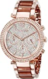 Michael Kors Women's Parker Rose Gold-Tone Watch MK6285