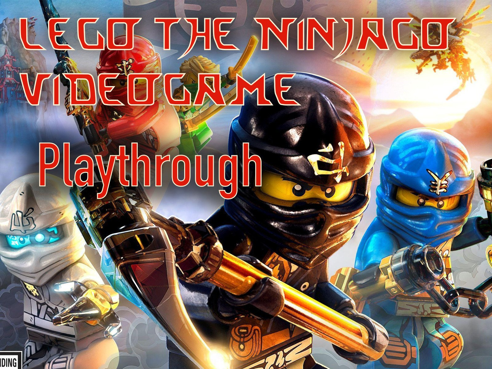 Clip: Lego The Ninjago Video Game Playthrough