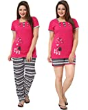 AV2 Women's Cotton Night Suit Set