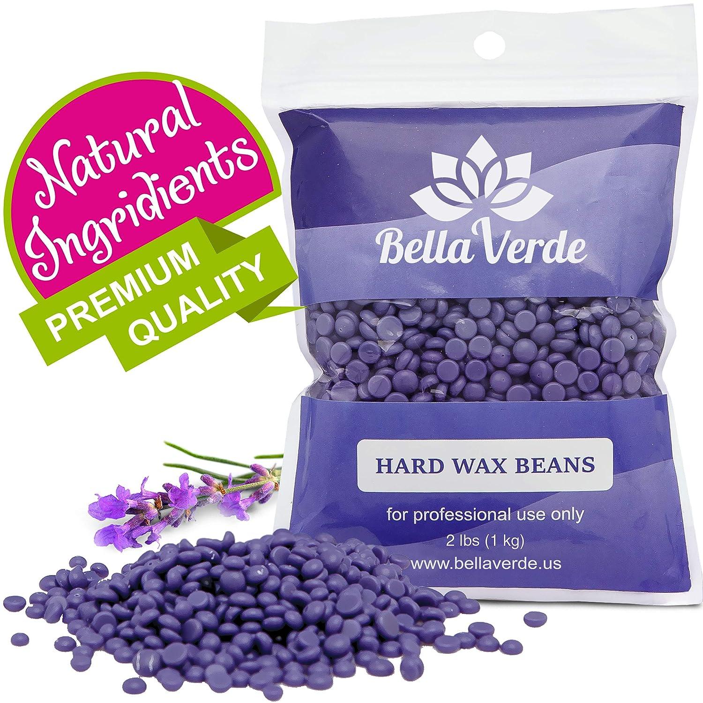 Wax Beans 2 2lb - Hard Wax Beads for Hair Removal - Brazilian Eyebrow Home  Body Wax for Men Women