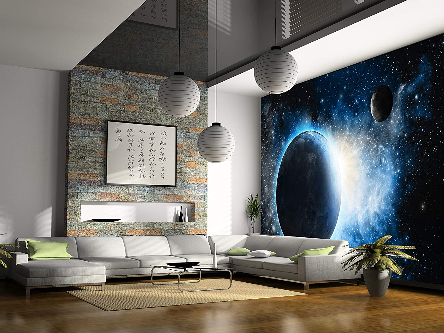 Startonight Mural Wall Art Photo Decor Cosmos Light Large 8 Feet 4 Inch By  12 Feet Wall Mural For Living Room Or Bedroom     Amazon.com Part 76