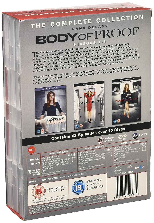 Body of Proof - Season 1-3 [DVD]: Amazon.co.uk: Dana Delany, Jeri ...