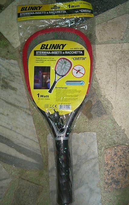 154 opinioni per Blinky 66878-10 Racchetta Ricaricabile Sterminainsetti
