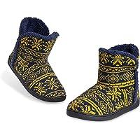 Dunlop Zapatillas Casa Hombre Altas, Pantuflas Hombre De Forro Polar Suave, Zapatillas Hombre Bota con Suela…