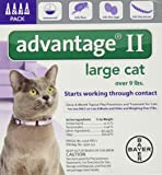 Advantage II Flea Treatment - Large Cat - 4 ct