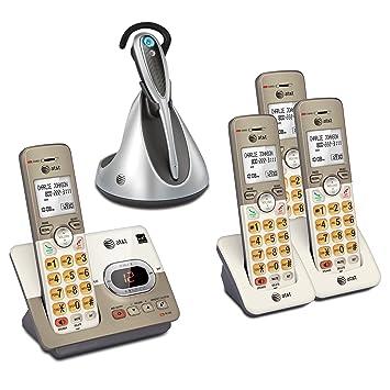 AT & T 4 Terminal DECT 6.0 – con teléfono Inalámbrico (1) EL52313 sistema