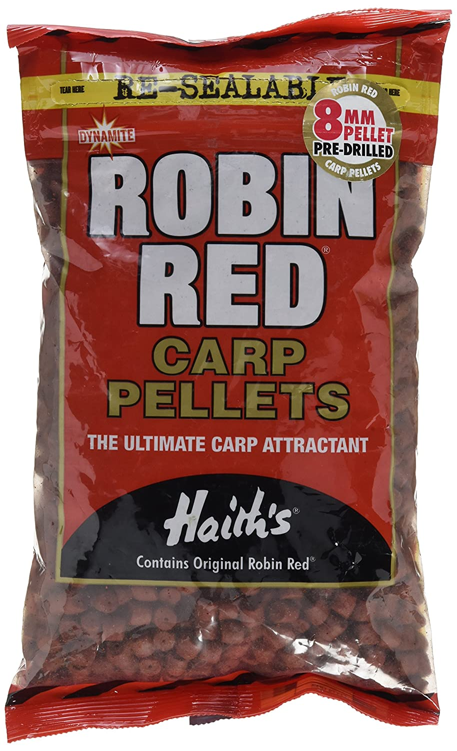 Pellet pre-forato Robin Red 8 mm DYNAMITE BAITS