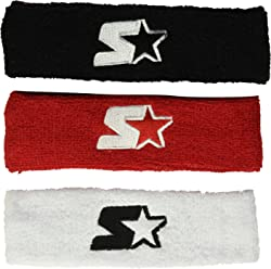 Starter Youth Unisex 3-Pack Headband, Prime Exclusive