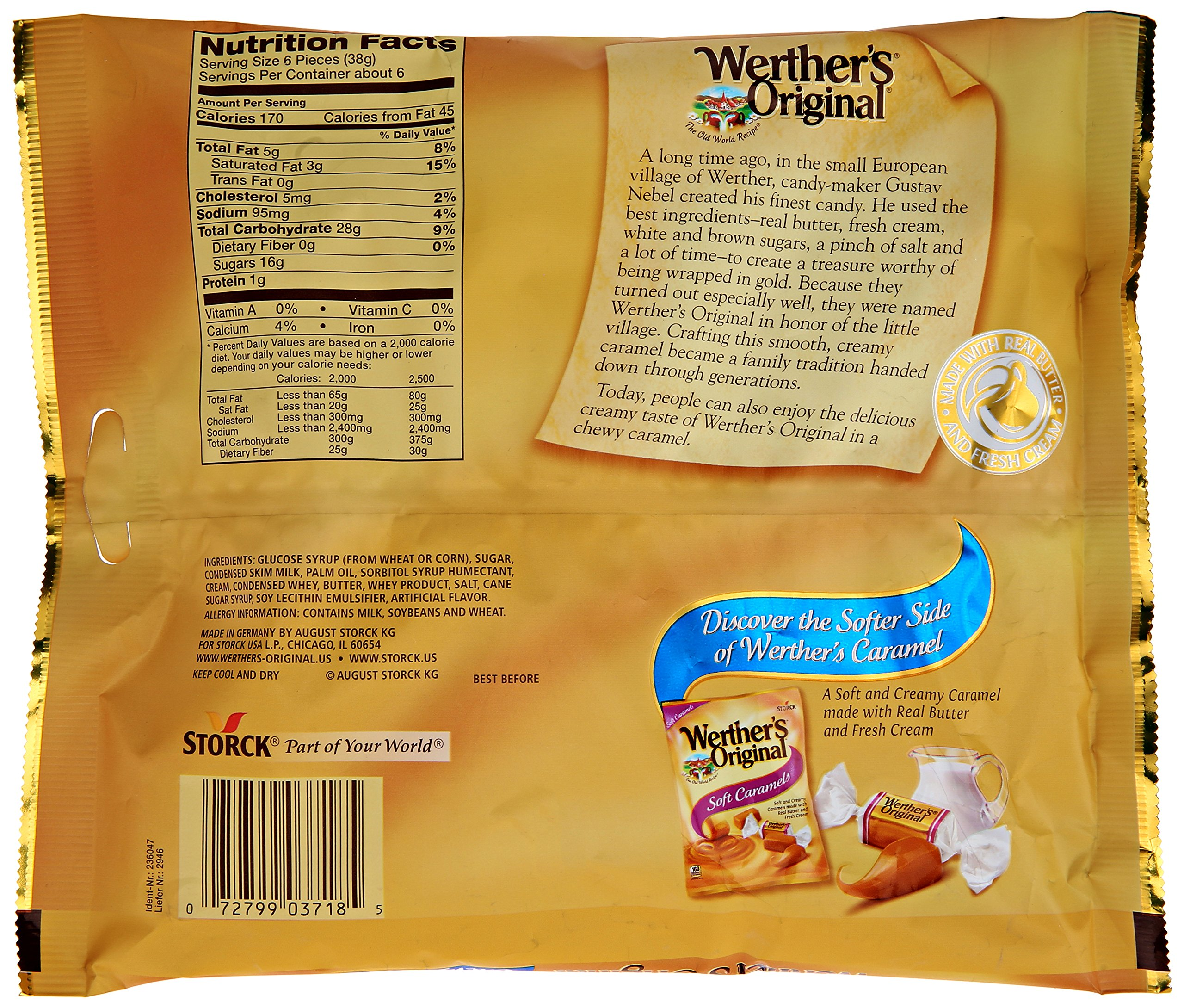 Werther's Original Chewy Caramels, 8.1 Ounce by Werther's (Image #4)