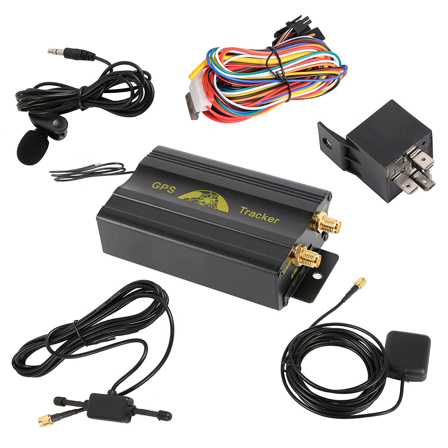 Gps car tracker with gprs and vehicle theft protection amazon co uk electronics