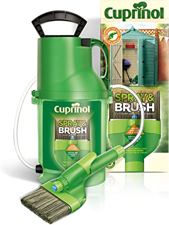 Cuprinol MPSB 2-in-1 Shed and Fence Paint Sprayer - Best Manual Sprayer