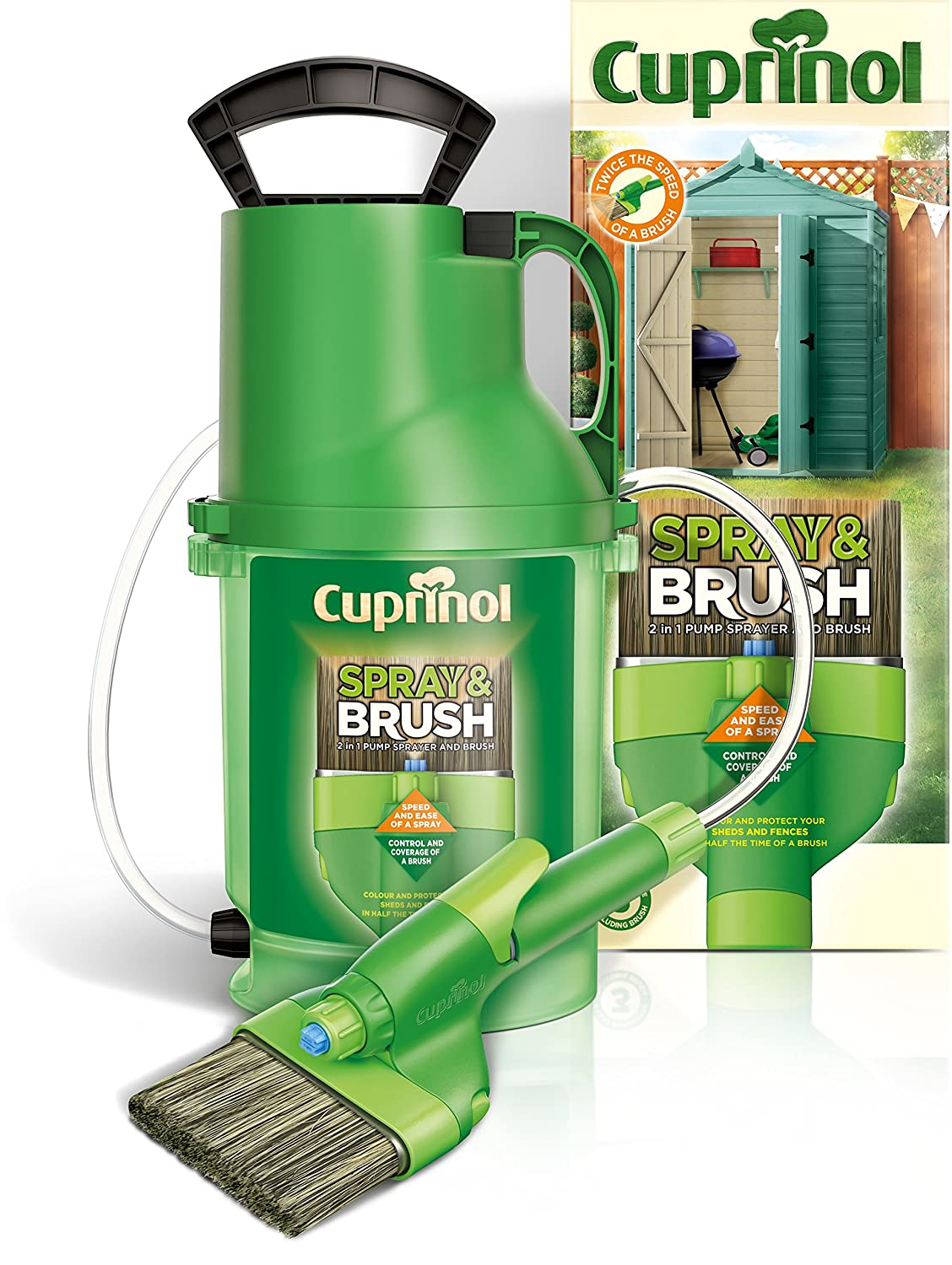 Cuprinol 2-in-1 Shed and Fence Paint Sprayer