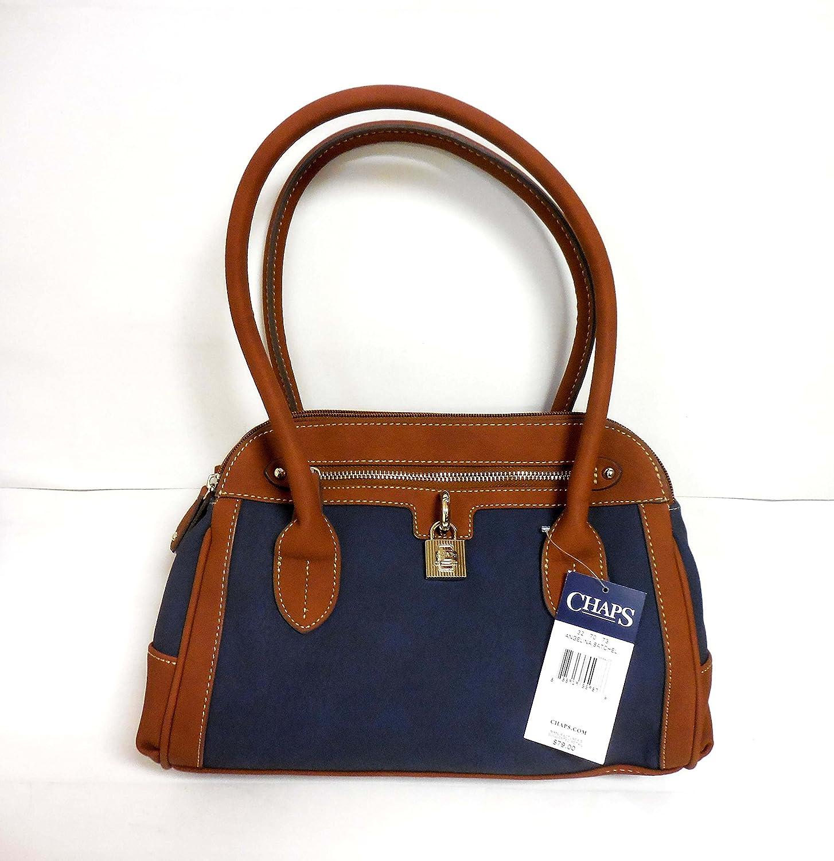 Chaps Angelina Satchel Padlock Handbag