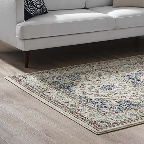 Modway Meryam Distressed Persian Medallion 8×10 Area Rug