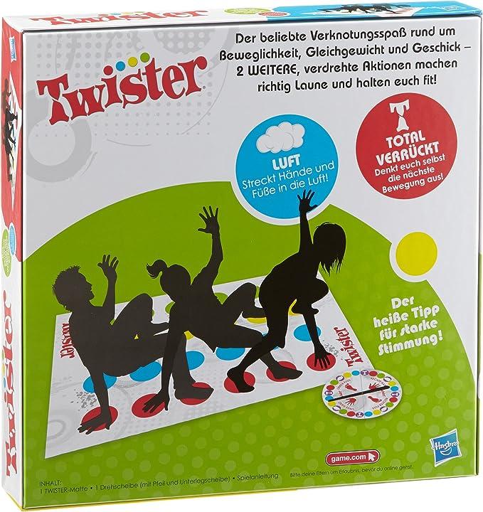 Hasbro Gaming - Twister, Juego de Suelo (versión en inglés): Amazon.es: Juguetes y juegos