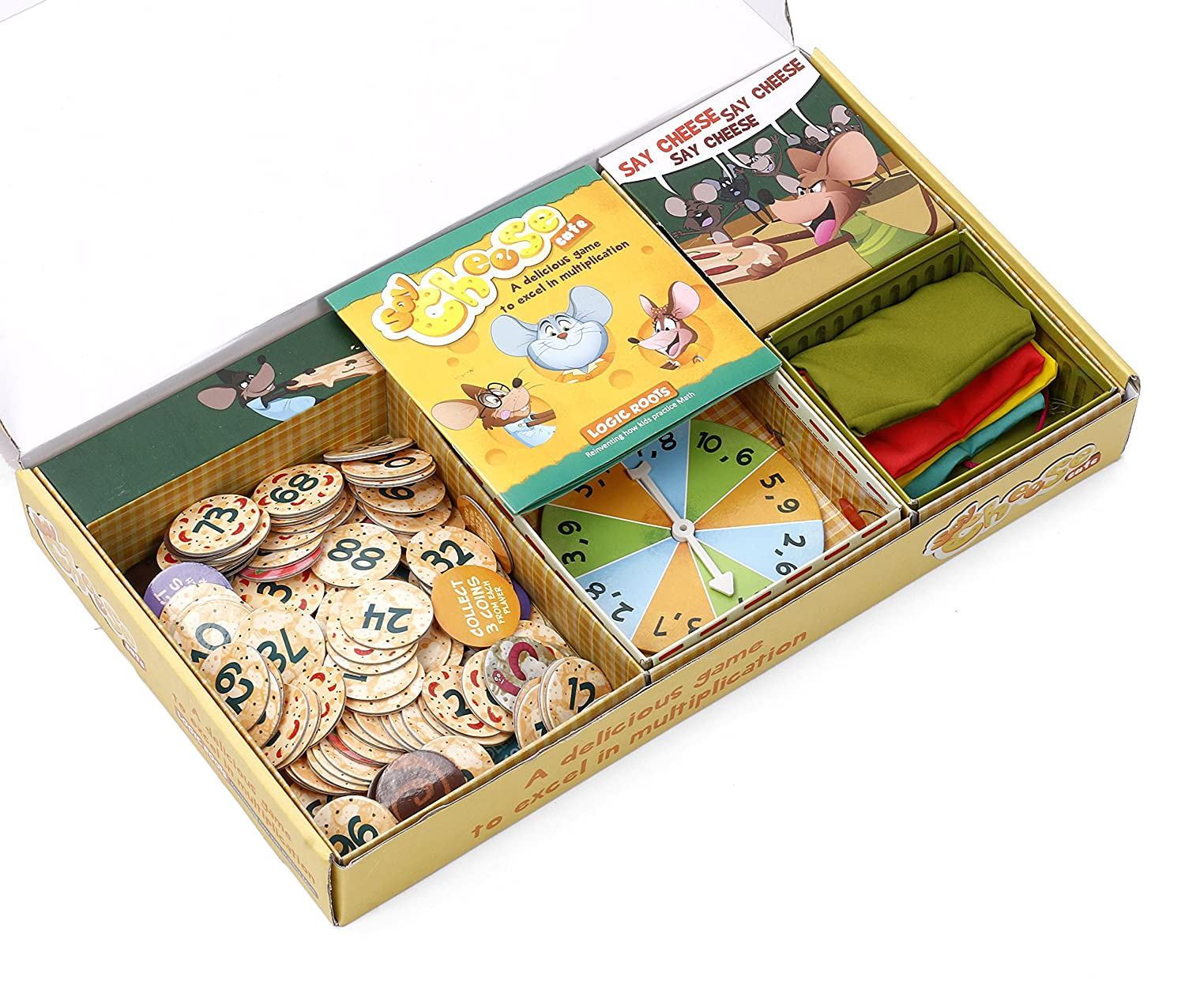 buy logic roots multiplication game say cheese café educational