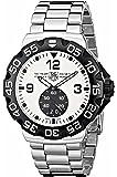 TAG Heuer Men's WAH1011.BA0854 Formula 1 Grande Date White Dial Stainless Steel Watch