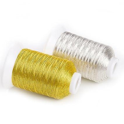 Amazon Sinbel Metallic Embroidery Thread Ms Type 2 Spools Set