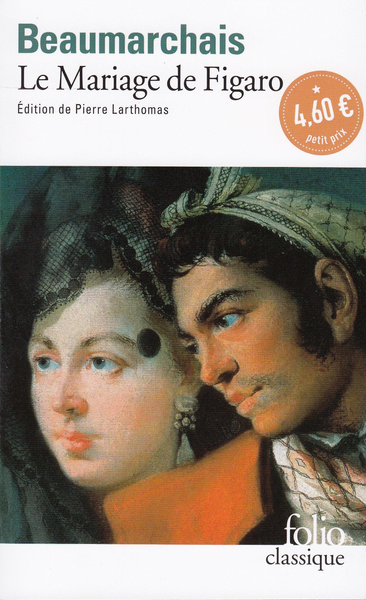 Le mariage de Figaro (Folio (Gallimard))