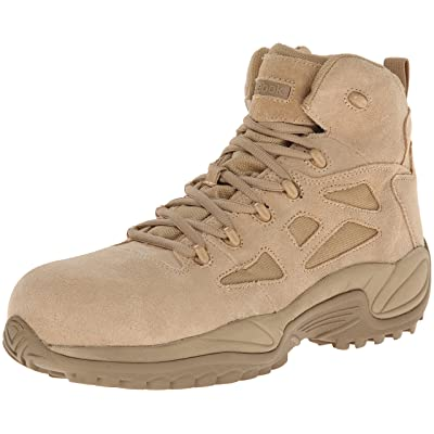 "Reebok Work Duty Men's Rapid Response RB RB8694 6"" Tactical Boot: Shoes"