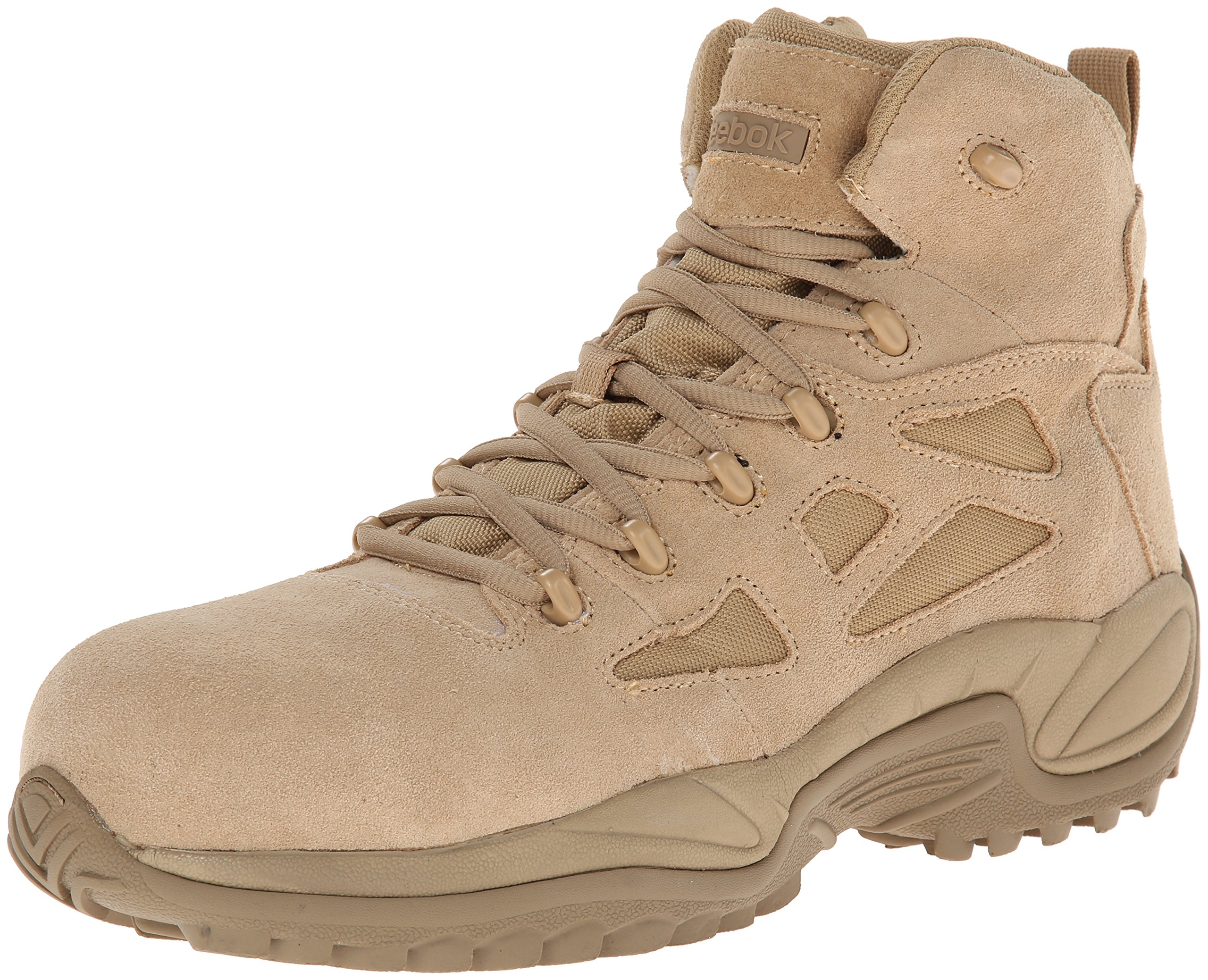 Reebok Work Men's Rapid Response RB8694 Safety Boot,Tan,10.5 W US