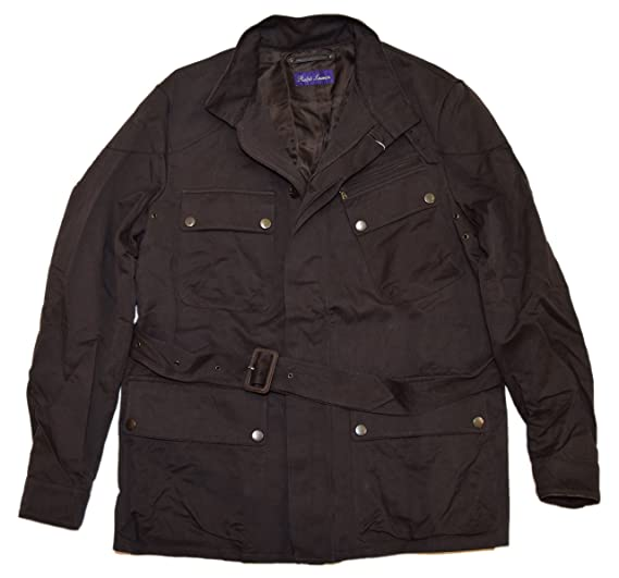 Polo Ralph Lauren Purple Label Mens Italy Jacket Coat Cotton Linen