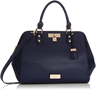 Carvela Womens Claire Winged Tote Blue