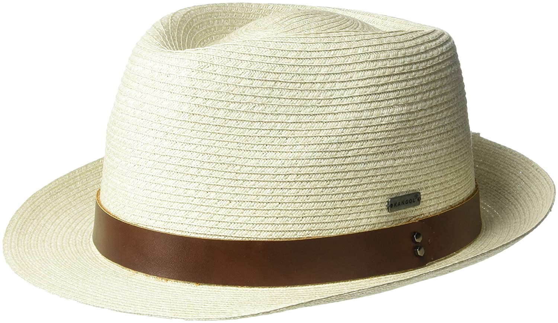 d53c7797 Kangol Men's Waxed Braid Trilby Fedora Hat at Amazon Men's Clothing store: