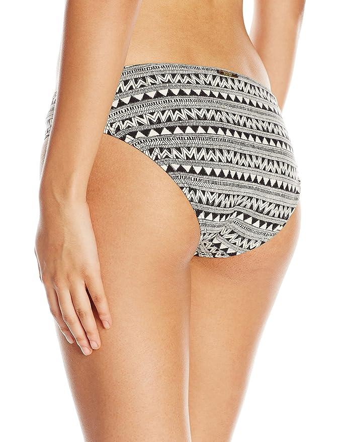 321920629a Amazon.com: Laundry by Shelli Segal Women's Maharaji Border Hipster Bikini  Bottom, Black, Large: Clothing