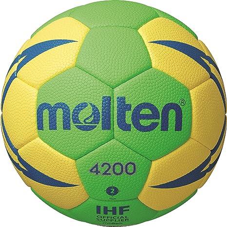 MOLTEN Handball H2X4200-GY-X - Pelota de Balonmano, Color ...