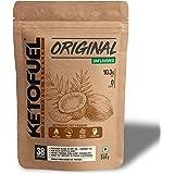 KETOFUEL Zero Carb MCT+Coconut Oil Keto Fat Powder 500g (Unflavored)