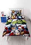 Marvel Avengers Shield Reversible Single Duvet Cover
