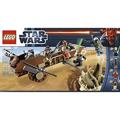 LEGO Star Wars 9496 Desert Skiff (Discontinued by manufacturer): Toys & Games