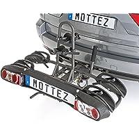 Unbekannt Mottez A021P2RA Verstellbarer und Zusammenkalpender Fahrradträger - 2 Räder
