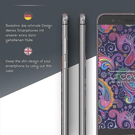 Urcover 360 Grad Mandala Cover Kompatibel Mit Huawei Elektronik