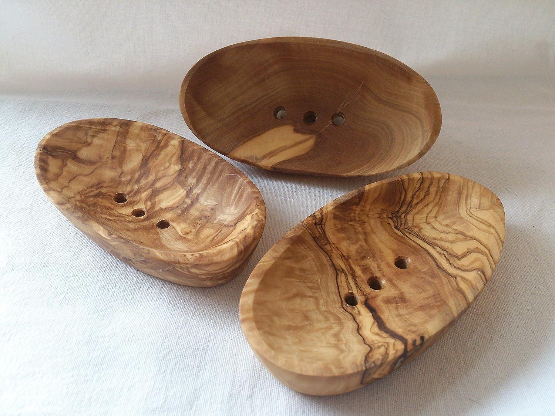 PORTASAPONE porta sapone in legno piccolo 13 x 7