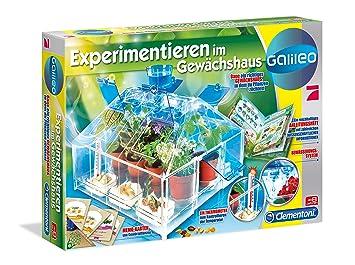 Clementoni 69490 7 Galileo Mein Erstes Gewachshaus Mehrfarbig