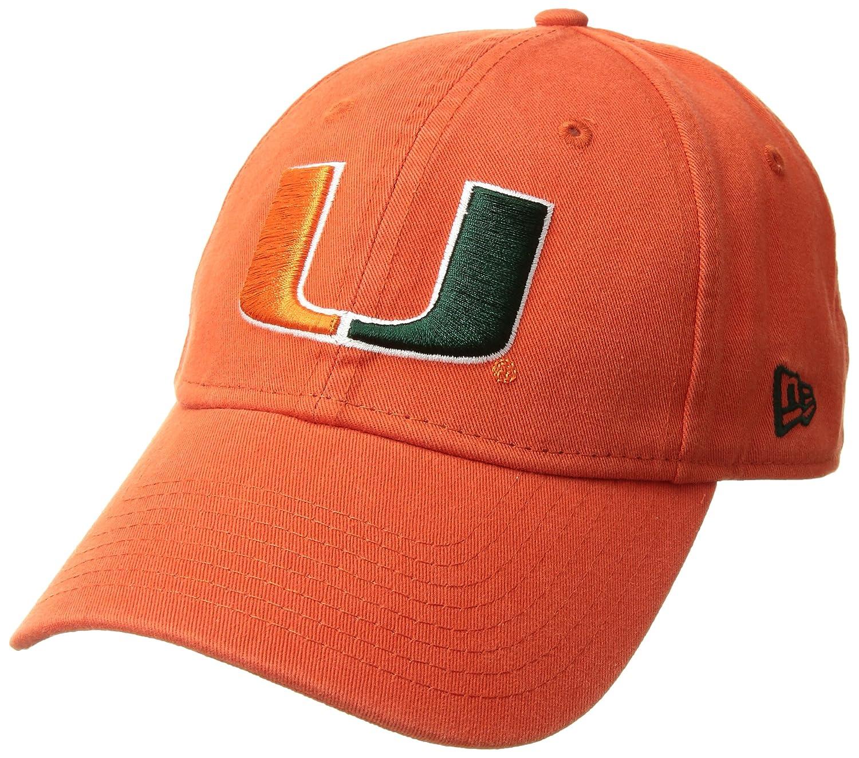 Amazon.com  New Era Men s Miami Hurricanes Core Classic Orange One Size  Fits All  Clothing 4e94a0d9a5b