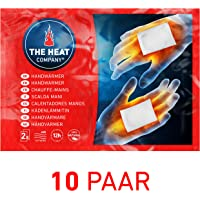 THE HEAT COMPANY Chauffe-Mains | EXTRA CHAUD | 12 heures de chaleur | chaleur immédiate | autochauffante | 100% naturel | 10 paires