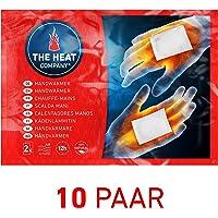 THE HEAT COMPANY Scalda Mani | EXTRA CALDO | 12 ore di calore | calore pronto | autoriscaldante | 100% naturale | 10 paia