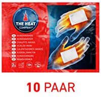 THE HEAT COMPANY Handwärmer EXTRA WARM - Wärmekissen 12 Std. Wärmedauer 10 Paar