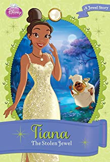 Disney Princess Tiana The Stolen Jewel A Story Chapter Book