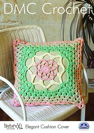DMC Crochet cadorabo - elegante funda de cojín 15238L/2 ...